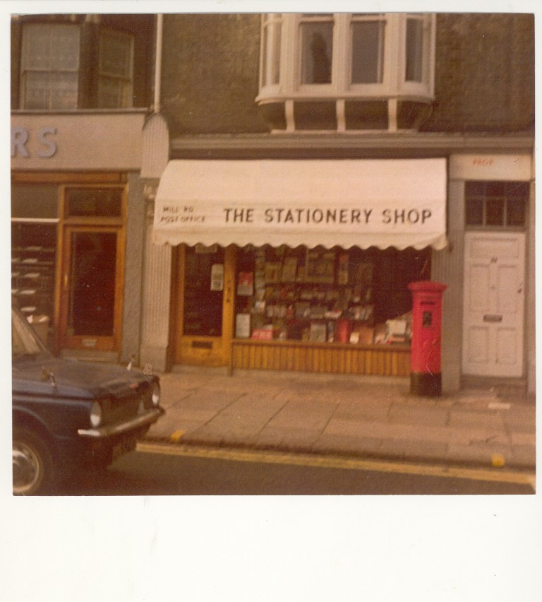 Petersfield Post Office, 34 Mill Road, 1970s.